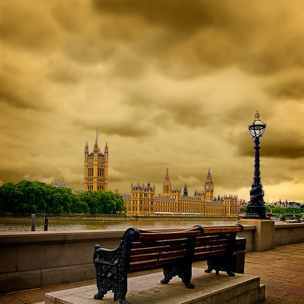 Seat of Power - An historic view of London. Wondering who has sat here through the ages.