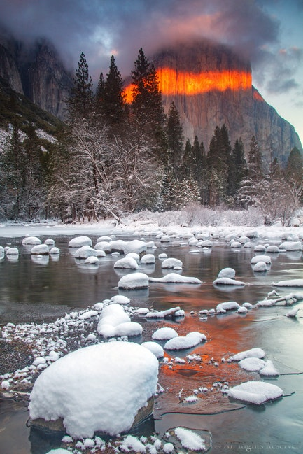 El Capitan, Winter's Fire
