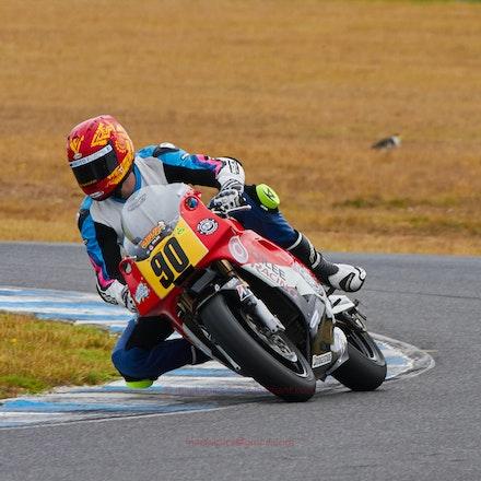 Joe Akroyd, Race 2  (File: 0938) - Kawasaki ZXR400