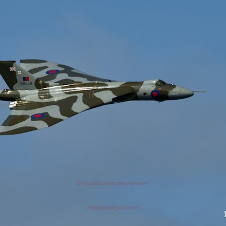 Vulcan XH558's final display season
