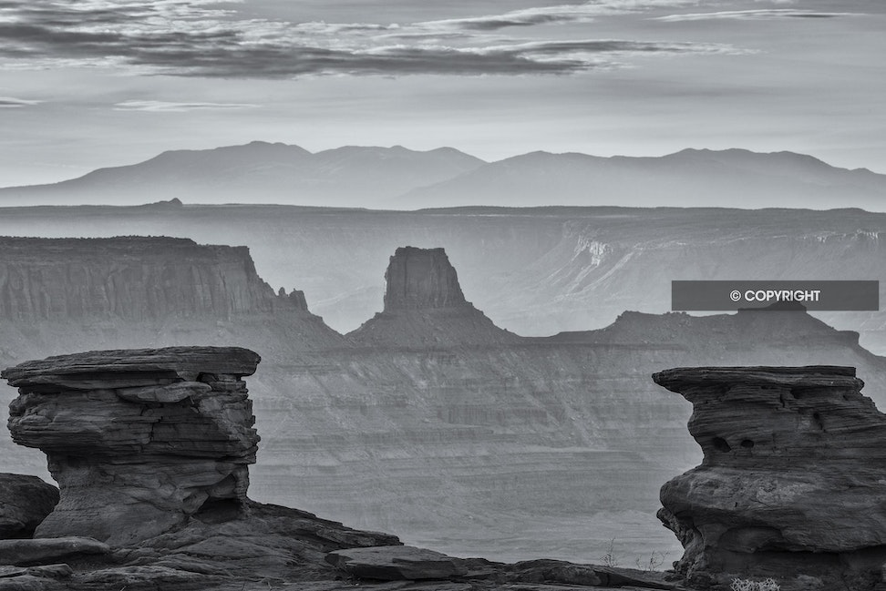 Gunbarrel - Dead Horse Point State Park - UT, 2012