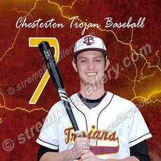 Chesterton Baseball Banner Samples - 4/20/15 - Chesterton Baseball Banner Samples