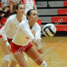 Lake Central vs. Crown Point - 9/22/16 - Crown Point defeated Lake Central in four sets on Thursday evening (9/22) in Crown Point.  Scores were:  25-14,...