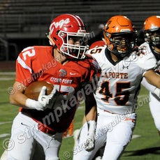 LaPorte vs. Crown Point - 9/29/17 - Crown Point was a 37-35 winner over LaPorte on Friday evening (9/29) in Crown Point.  LaPorte's Drayson Nespo and Crown...