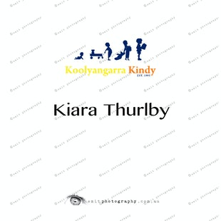Koolyangarra Kindy -  Kiara Thurlby