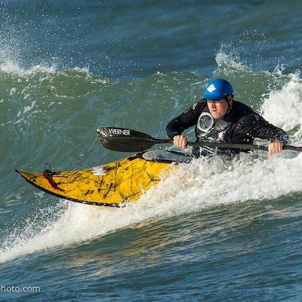 140413_surfkayaking_6072 - at Huskisson (Jervis Bay), NSW (Australia) on April 13 2014. Photo: Jan Vokaty