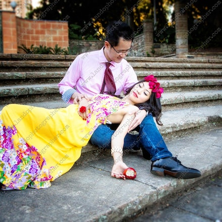 Angie and John - sydney pre wedding photography