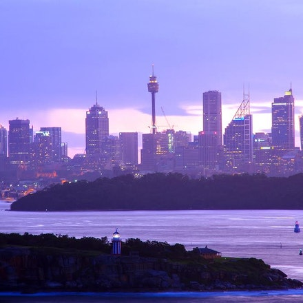 Sydney view from North Head - Copyright © 2015 Melissa Fiene Photography. All rights reserved. All images created by Melissa Fiene are © Melissa Fiene...