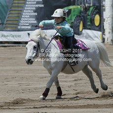 Warwick 2015  Junior Barrel Race - Saturday