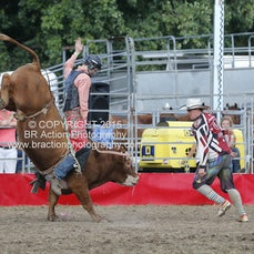 Whittlesea Rodeo - 2nd Div Bull Ride - Sect 1