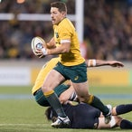 Wallabies v Pumas 160817 - Rugby Championship. 45-20 win to the Wallabies in Canberra
