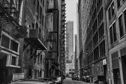 MG_2303 Downtown Chicago - Alley, Downtown Chicago, USA