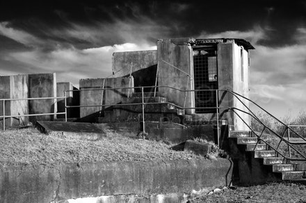 Middle Head-3063 - Derelict gun fortification building , Middle Head, Sydney, NSW