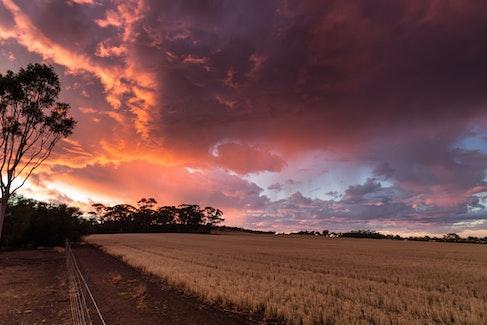Brookton Sunset