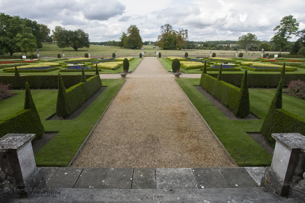Formal gardens, Wimpole Hall, Cambridgeshire - Formal gardens, Wimpole Hall, Cambridgeshire