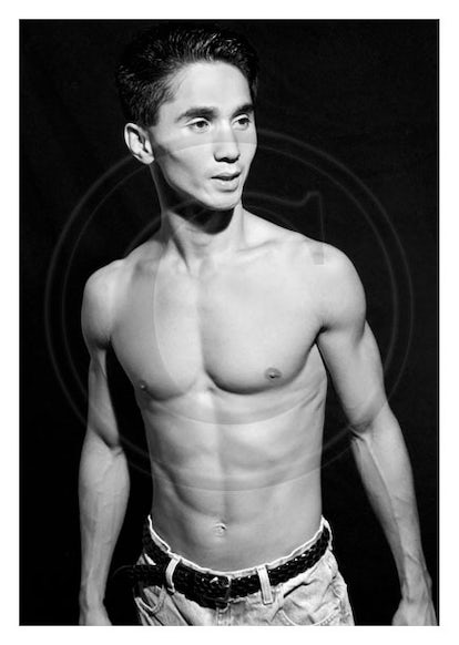 BA13199 - Signed Asian Male Nude Photo by Jayce Mirada