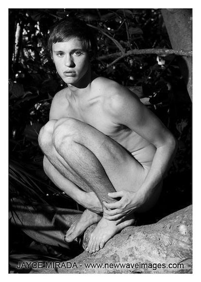 AL111507 - Signed Male Nude Photo Art by Jayce Mirada