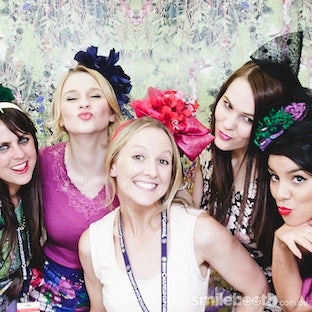 Allanah Hill Photobooth by Smilebooth - Caulfield Cup   Melbourne