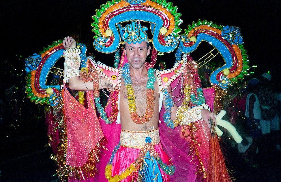 Carioca at Carnival, Rio De Janiero, Brazil