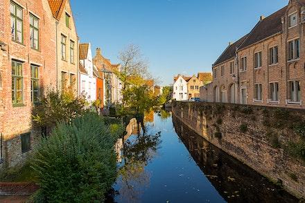 206 - Bruges - 111116-2165-Edit - Bruges Canal on 11/11/16