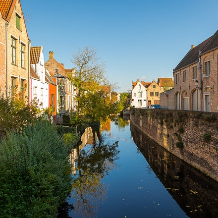 206 - Bruges - 111116-2165-Edit - Bruges Canal on 11/11/16
