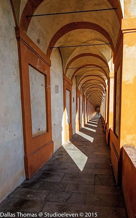 Portico from Santuario Madonna di San Luca -2273-Edit