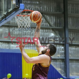 Big V Mens Basketball Div 1 Semi Finals: Melton vs Latrobe - Pictures by Shawn Smits