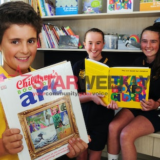 Art Campaign - New Gisborne Primary School fundraiser.
