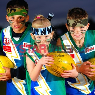 Thunder Warrior - Jai, Ella and Ben prepare for the event in Sunbury