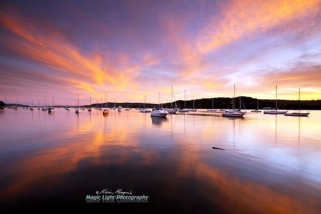 Gosford Sailing Club Sunset 09 June 2013 IMG_9358 1050 v3
