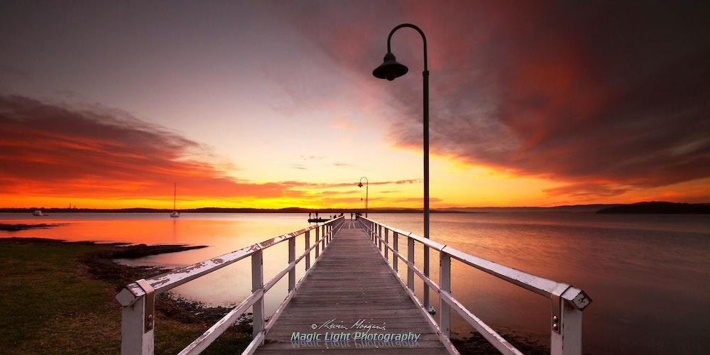 Murrays Beach Sunset 05 Oct 2013 IMG_9964 1680 panorama