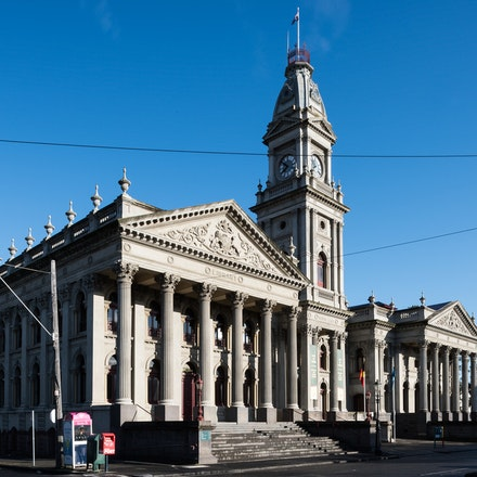 Fitzroy Town Hall - City of Yarra Project - Fitzroy Town Hall on a beautiful September morning