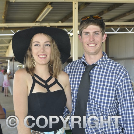151024_SR23417 - Isabella Smith, Mitch McClellan at the Isisford Races, Saturday October 24, 2015.  sr/Photo by Sam Rutherford