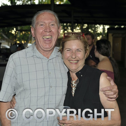 151107_SR24847 - Lee Skinn, deb Chandler at the Sportsmans Dinner in Barcaldine, Saturday November 7, 2015.  sr/Photo by Sam Rutherford.
