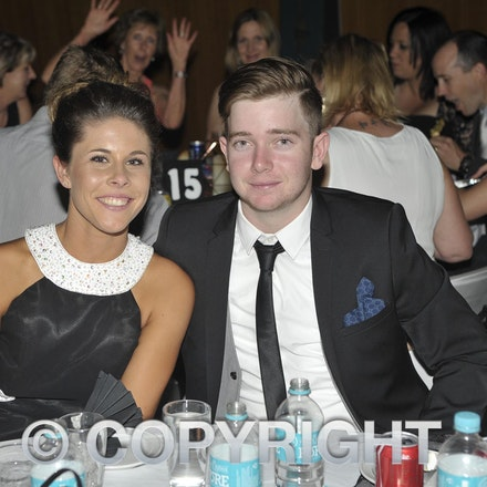 151120_SR27462 - Shannon cossor, Rhys Kinsey at the Longreach State High School formal, Friday November 20, 2015.  sr/Photo by Sam Rutherford