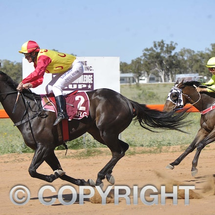 161029_SR20867 - At the Barcaldine Races, Saturday October 29, 2016.