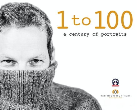 1-100 a century of portraits - A book of photographs of one hundred people one hundred different ages, to raise money for Mountain Rescue.